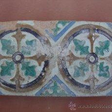 Antigüedades: AZULEJO ANTIGUO PROBABLE SIGLO XVI. Lote 37574809