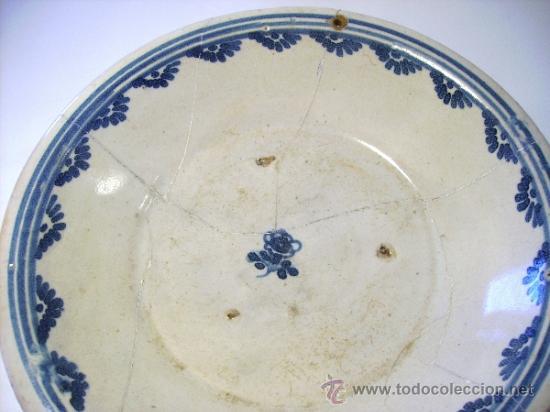 Antigüedades: PLATO DE TALAVERA XVIII - Foto 4 - 37562090