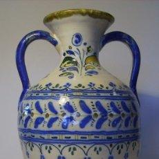 Antigüedades: BONITO JARRON DE TALAVERA . Lote 37578490