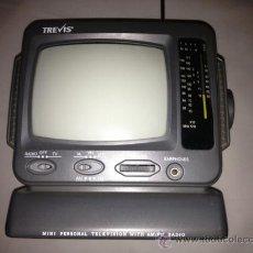 Antigüedades: ANTIGUA TELEVISION CON RADIO EN MINIATURA. Lote 37594465