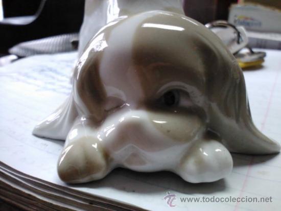 Antigüedades: figura perro - Foto 3 - 8872699