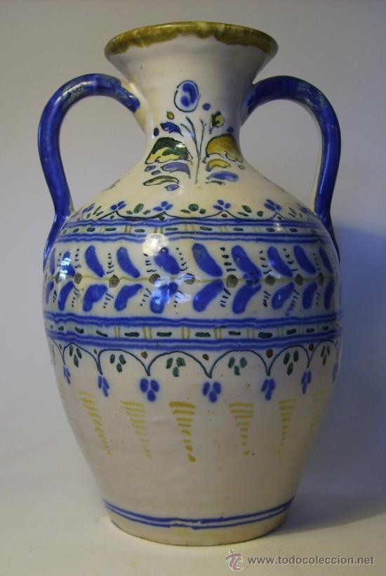 Antigüedades: BONITO JARRON DE TALAVERA - Foto 5 - 37578490