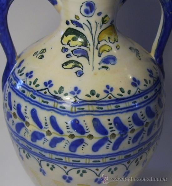 Antigüedades: BONITO JARRON DE TALAVERA - Foto 4 - 37578490