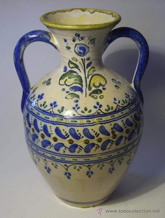 Antigüedades: BONITO JARRON DE TALAVERA - Foto 3 - 37578490