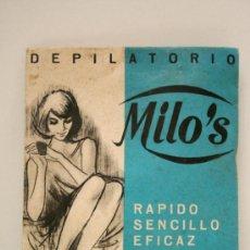 Antiquitäten - DEPILATORIO MILO`S AÑOS 30-40 A ESTRENAR - 37598836