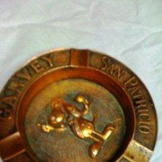 Antigüedades: CENICERO BRONCE ESPLENDIDO GARVEY. Lote 37611070