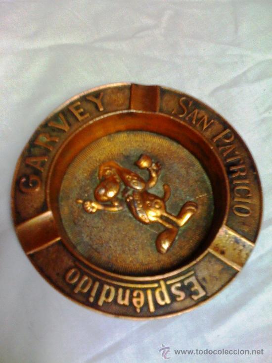 Antigüedades: CENICERO BRONCE ESPLENDIDO GARVEY - Foto 2 - 37611070