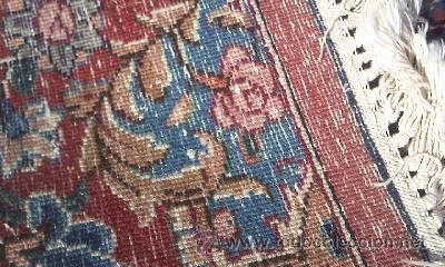 Antigüedades: ESPECTACULAR ALFOMBRA PERSA DE finales DEL SIGLO XIX EN GRAN TAMAÑO.MOTIVO FLORAl - Foto 12 - 37624115