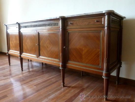 Importante mueble aparador bufet antiguo alfons comprar - Mueble aparador antiguo ...