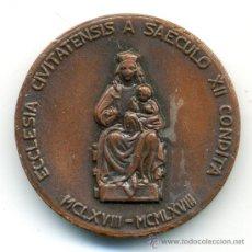 Antigüedades: MEDALLA ANIVERSARIO 1168-1968 OBISPADO. Lote 37634457