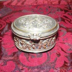 Antigüedades: ANTIGUA CAJA PLATEADA . Lote 37675203