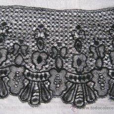 Antigüedades: ANTIGUO ENCAJE DE BOLILLO S. XIX. Lote 37644722