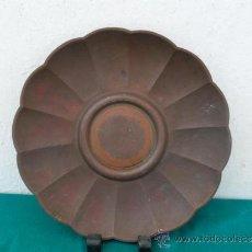 Antigüedades: PLATO DE COBRE. Lote 37655290