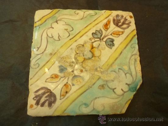 AZULEJO (Antigüedades - Porcelanas y Cerámicas - Azulejos)