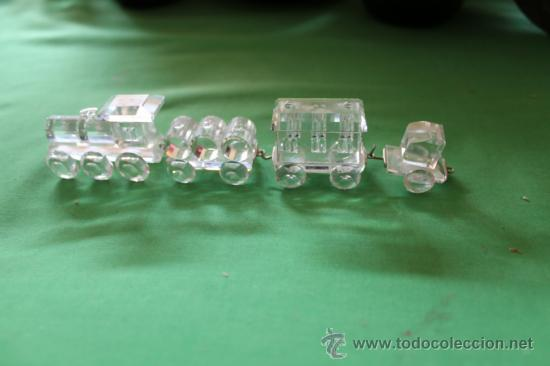 TRENECITO SWAROVSKY (Antigüedades - Cristal y Vidrio - Swarovski)