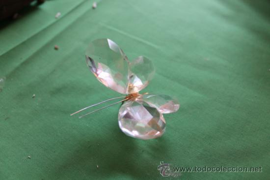 MARIPOSA SWAROVSKY (Antigüedades - Cristal y Vidrio - Swarovski)