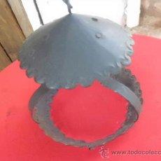 Antigüedades: BONITO FAROL DE METAL . Lote 37685066