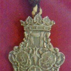 Antigüedades: MEDALLA DE LA DIVINA PASTORA DE MALAGA. Lote 37693637