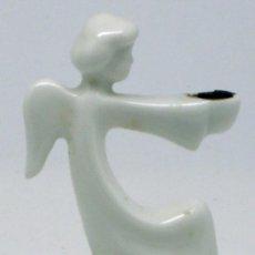 Antigüedades - Angel portavelas porcelana Rosenthal Germany - 37713011