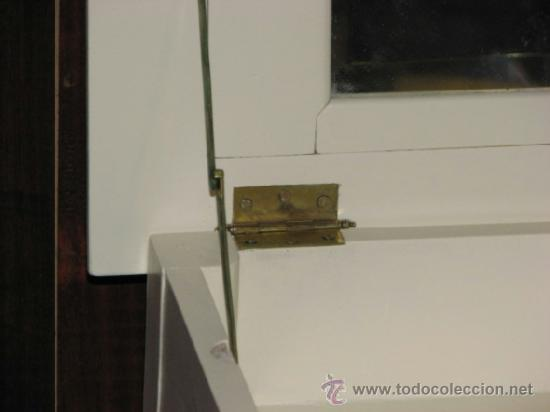 Antigüedades: ANTIGUO COSTURERO CON ESPEJO - Foto 5 - 37694055