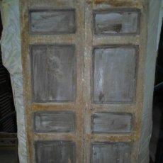 Antigüedades: PUERTA DOBLE HOJA CASTELLANA. Lote 37714308