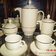 Antigüedades: JUEGO DE CAFÉ DE SEVRES. Lote 37716964