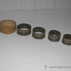 Antigüedades: ANTIGUO JUEGO DE MOLDES. Lote 37721012