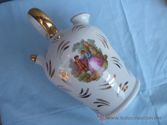 ANTIGUO BOTIJO DE PORCELANA, SAN CLAUDIO? (Antigüedades - Porcelanas y Cerámicas - San Claudio)