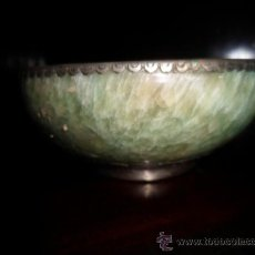Antigüedades: CUENCO CHINO DE ALABASTRO PARA ARROZ. Lote 37821372
