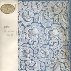 Antigüedades: NEUBURGER TEXTURES - MUESTRARIO DE ENCAJE SUIZO. Lote 37758951