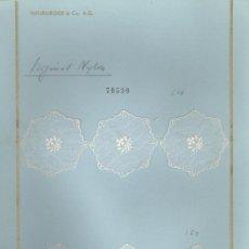 Antigüedades: NEUBURGER TEXTURES - MUESTRARIO DE ENCAJE SUIZO. Lote 37758961