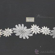 Antigüedades: NEUBURGER TEXTURES - MUESTRARIO DE ENCAJE SUIZO. Lote 37758965