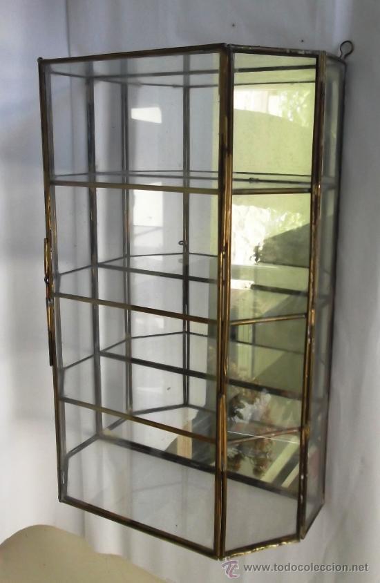 Caja vitrina grande de colgar de cristal con tr comprar - Vitrinas para colgar ...