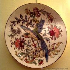 Antigüedades: GRAN PLATO ANTIGUO DE PORCELANA / MODERNISTA 1890. Lote 37767180