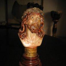 Antigüedades: ECCE HOMO O CRISTO EN ESCAYOLA.. Lote 37778386