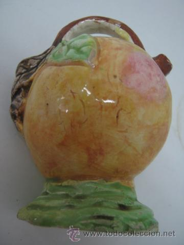 Antigüedades: Antiguo botijo pequeño cerámica Manises - Foto 2 - 37780539