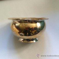 Antigüedades: BOL PLATA MACIZA, SIGLO XIX MARCAS DE GONZALEZ AGUILERA, GRANADA. Lote 37806473