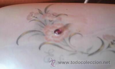 Antigüedades: Preciosa caja de porcelana para algodones. Creazioni Itali esclusive. - Foto 4 - 37807166