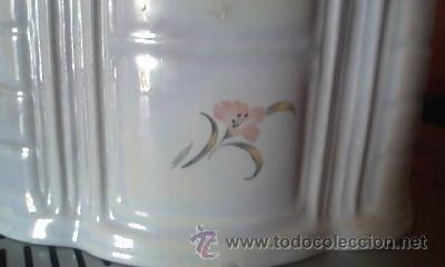 Antigüedades: Preciosa caja de porcelana para algodones. Creazioni Itali esclusive. - Foto 5 - 37807166