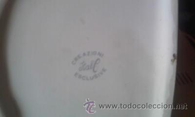 Antigüedades: Preciosa caja de porcelana para algodones. Creazioni Itali esclusive. - Foto 7 - 37807166