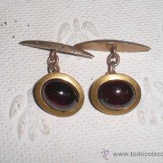 Antigüedades: PAREJA DE GEMELOS VINTAGE.. Lote 37821601