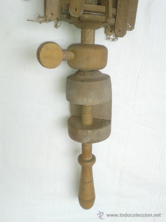 Antigüedades: antigua sombrilla o paraguas de madera para restaurar - Foto 2 - 37831841