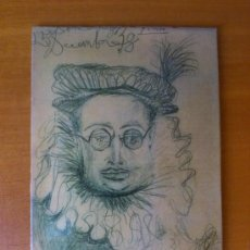 Antigüedades: CUADRO LAMINA DE CHAPA PLASTIFICADA ( RETRATO ). Lote 37835530