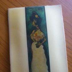 Antigüedades: CUADRO ANTIGUO DE CHAPA PLASTIFICADA ( LA CHATA ). Lote 37859079