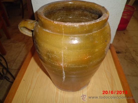 Antigüedades: ORZA ANTIGUA, VIDRIADA - Foto 2 - 37826973