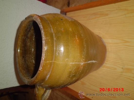 Antigüedades: ORZA ANTIGUA, VIDRIADA - Foto 3 - 37826973
