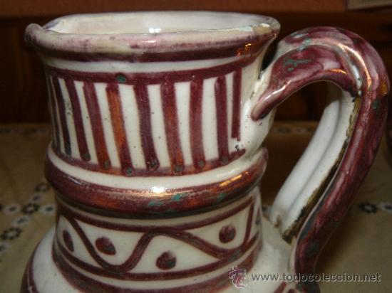 Antigüedades: CERÁMICA DE MANISES - REFLEJOS - PPS SIGLO XX - Foto 2 - 37830454