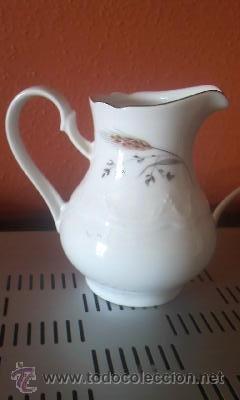 BONITA Y FINA LECHERA DE PORCELANA LEUCHTENBURG (Antigüedades - Porcelana y Cerámica - Alemana - Meissen)