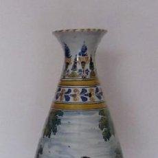 Antigüedades: JARRON CERAMICA TALAVERA. Lote 37855874