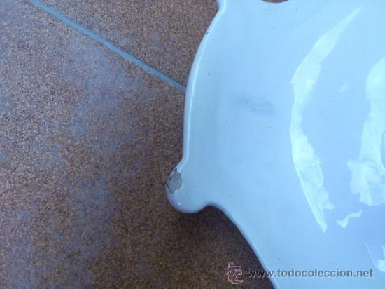Antigüedades: Magnifica bandeja de porcelana antigua ( PEREIRAS VALADO ) PORTUGAL años 60/70 - Foto 15 - 37860335
